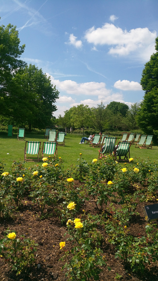 RegentsPark in May 1