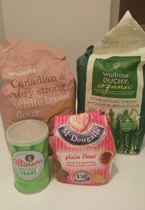 使った小麦粉